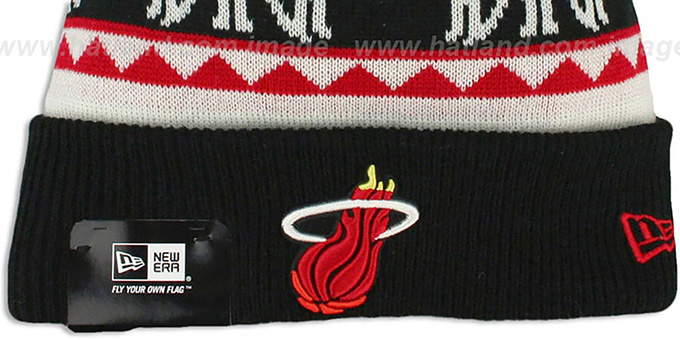 Heat 'THE-MOOSER' Knit Beanie Hat by New Era