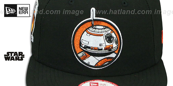 Hero Droid 'RETROFLECT SNAPBACK' Black Hat by New Era