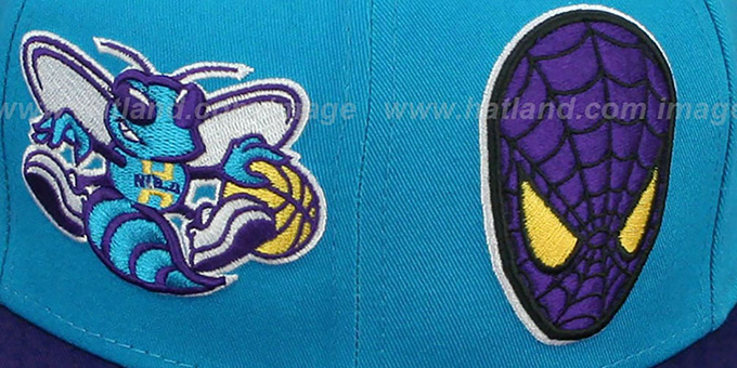 Hornets 'DOUBLE-WHAM SPIDERMAN SNAPBACK' Hat by New Era