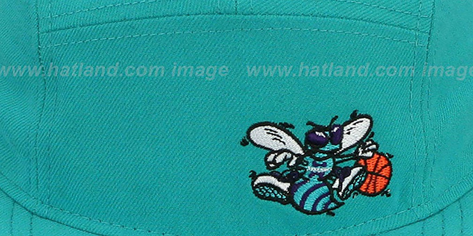 Hornets 'FLAWLESS CAMPER STRAPBACK' Teal Hat by New Era