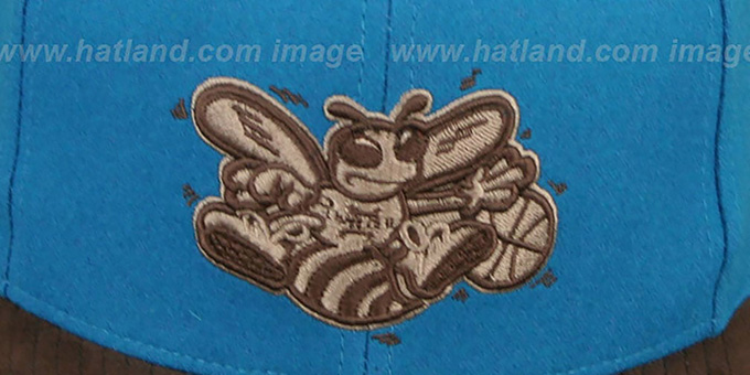 Hornets 'TC-BROWN SUEDE STRAPBACK' Hat Mitchell & Ness