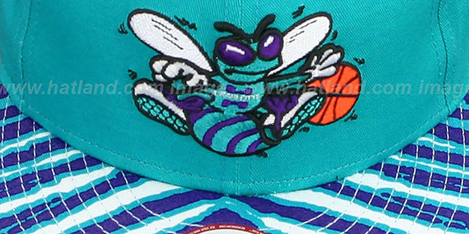 Hornets 'ZUBAZ SNAPBACK' Adjustable Hat by New Era