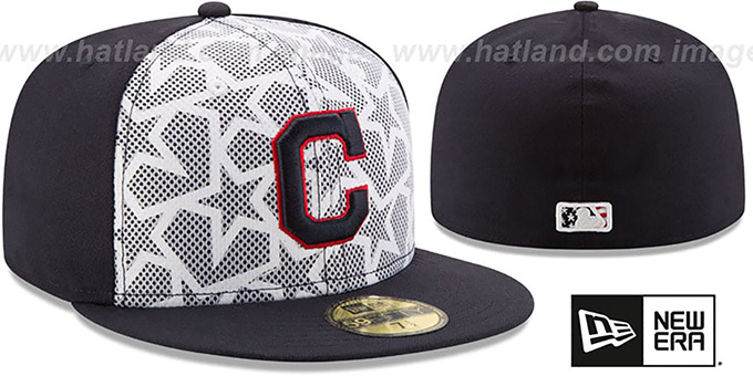 quality design df65a 5fd70 best price indians 2016 july 4th stars n stripes fitted hat by new era  5ed2a 18eb9