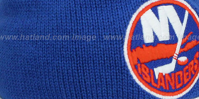 Islanders 'XL-LOGO BEANIE' Royal by Mitchell and Ness