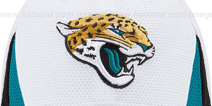 Jaguars '2013 NFL TRAINING FLEX' White Hat by New Era