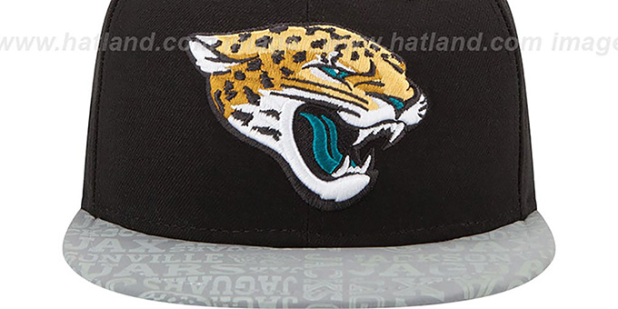 Jaguars '2014 NFL DRAFT' Black Fitted Hat by New Era