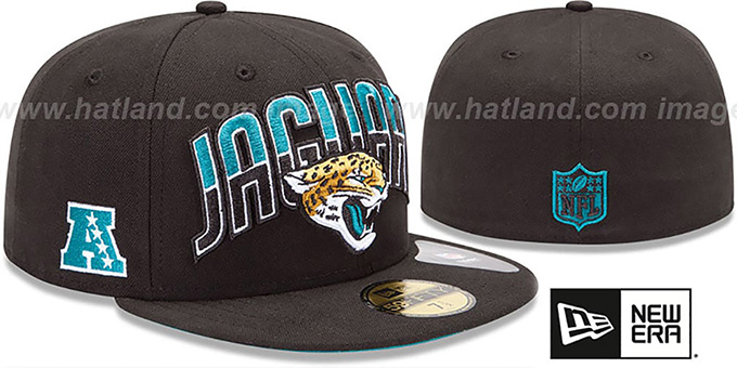 Jaguars 'NFL 2013 DRAFT' Black 59FIFTY Fitted Hat by New Era