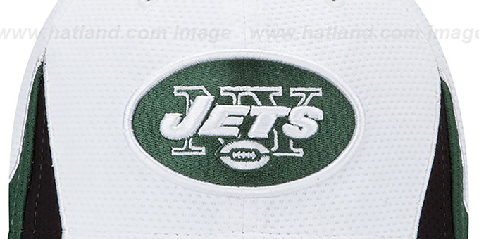 Jets '2013 NFL TRAINING FLEX' White Hat by New Era