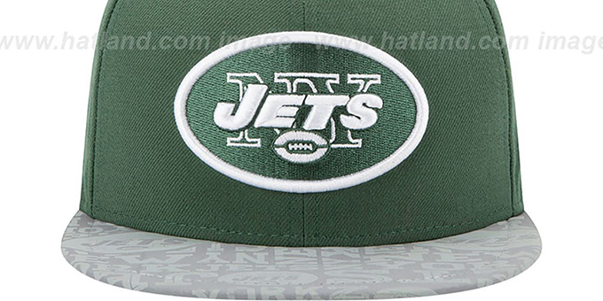 Jets '2014 NFL DRAFT' Green Fitted Hat by New Era
