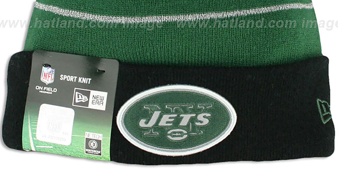 Jets 'THANKSGIVING DAY' Knit Beanie Hat by New Era