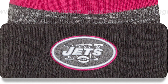 Jets '2016 BCA STADIUM' Knit Beanie Hat by New Era