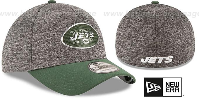 8864f523d47 New York Jets 2016 NFL DRAFT FLEX Hat by New Era