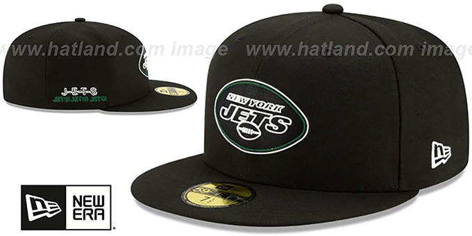 Jets '2020 NFL VIRTUAL DRAFT' Black Fitted Hat by New Era