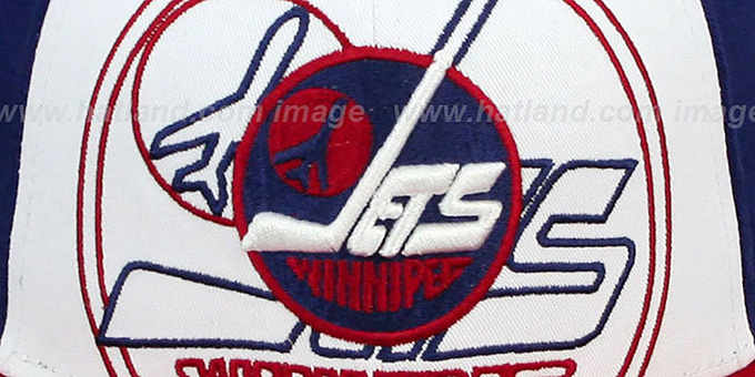 Jets 'LITTLE-BIG POP SNAPBACK' White-Navy-Red Hat by New Era