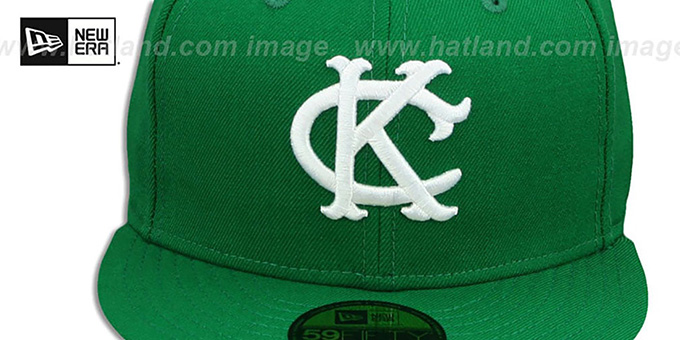 KC Athletics '1963-67 COOPERSTOWN' Fitted Hat by New Era