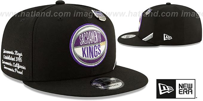 san francisco a9b34 ca9be ... Kings  2019 NBA DRAFT SNAPBACK  Black Hat by New Era ...