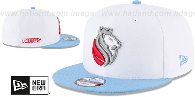 Kings 'CITY-SERIES SNAPBACK' White-Sky Hat by New Era