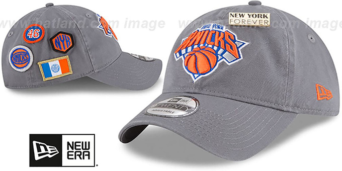 Knicks '2018 NBA DRAFT STRAPBACK' Grey Hat by New Era