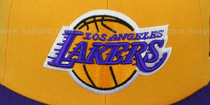 Lakers 2001 'COMMEMORATIVE CHAMPS' Hat by Mitchell & Ness