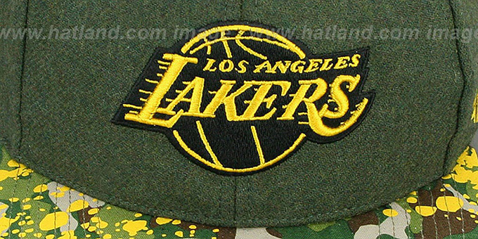 Lakers 'COLONEL POTTER' Adjustable Hat by Twins 47 Brand