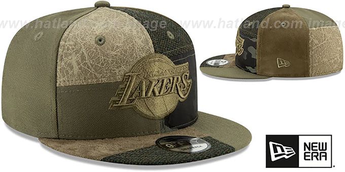 Lakers 'PATCHWORK PREMIUM SNAPBACK' Hat by New Era