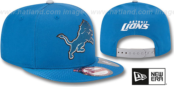 Lions '2015 NFL DRAFT SNAPBACK' Blue Hat by New Era