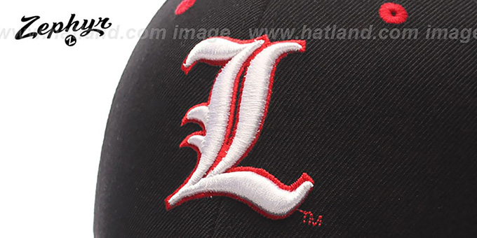 Louisville 'DH' Fitted Hat by ZEPHYR - black
