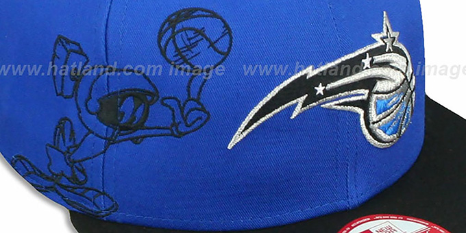 Magic 'SIDE-TEAM' MARVIN MARTIAN SNAPBACK Hat by New Era