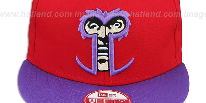 Magneto 'CABESA-MUTANT SNAPBACK' Adjustable Hat by New Era