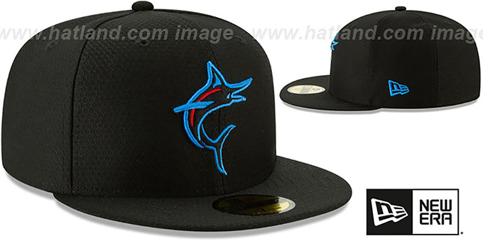 promo code 167fd b9dc0 Miami Marlins 2019 AC-BATTING PRACTICE Hat by New Era