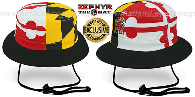 Bucket Hat Maryland Flag