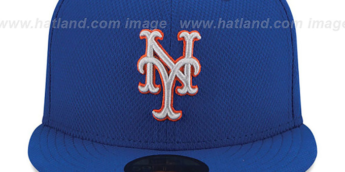 Mets 2015 ALT-2 'DIAMOND-TECH' BP Hat by New Era