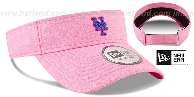Mets '2018 MOTHERS DAY VISOR' Heather Pink by New Era