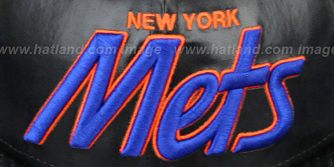 Mets 'REDUX SNAPBACK' Black Hat by New Era