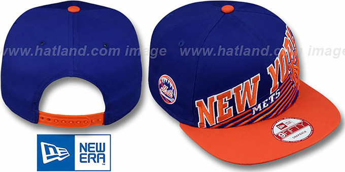Mets 'STILL ANGLIN SNAPBACK' Royal-Orange Hat by New Era