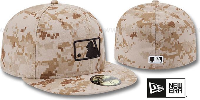 MLB Umpire 2013 STARS N STRIPES Desert Camo Hat by New Era f0ff85cffc9