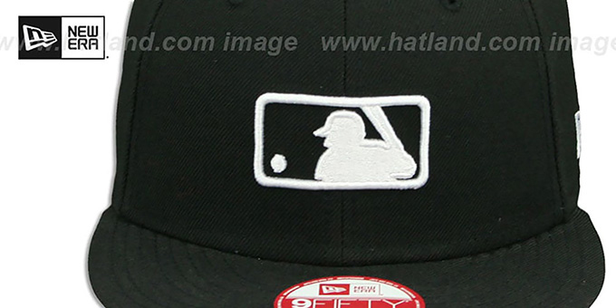 MLB Umpire 'REPLICA SNAPBACK' Black-White Hat by New Era