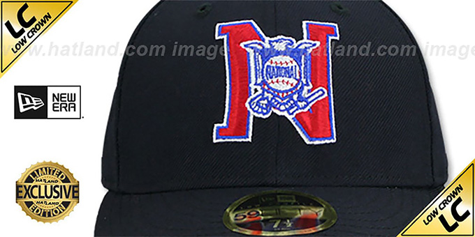 National League 'LOW-CROWN MLB UMPIRE' Navy Hat by New Era
