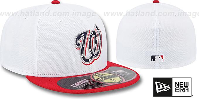 ... Nationals 2013  JULY 4TH STARS N STRIPES  Hat by New Era ... bb8f1c90b9c