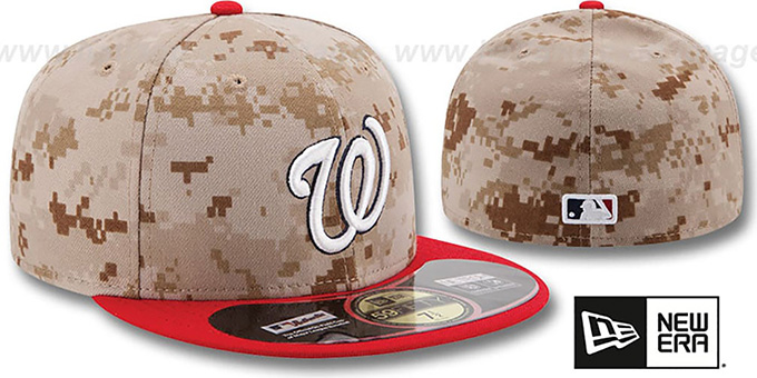... Nationals  2014 STARS N STRIPES  Fitted Hat by New Era ... fdf63e8cd4c