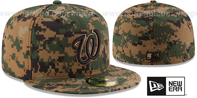 Nationals 2016 MEMORIAL DAY 'STARS N STRIPES' Hat by New Era