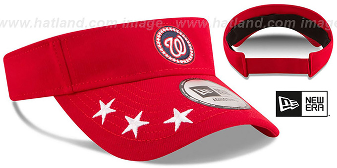Nationals '2018 MLB ALL-STAR WORKOUT VISOR' by New Era