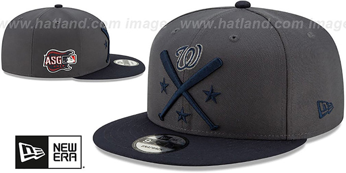 7451b0ff ... Nationals '2019 MLB ALL-STAR WORKOUT SNAPBACK' Hat by New Era ...