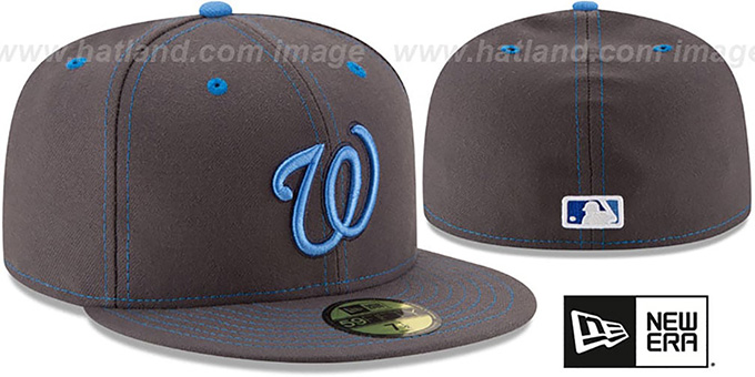 Nationals 'FATHERS DAY' Fitted Hat by New Era