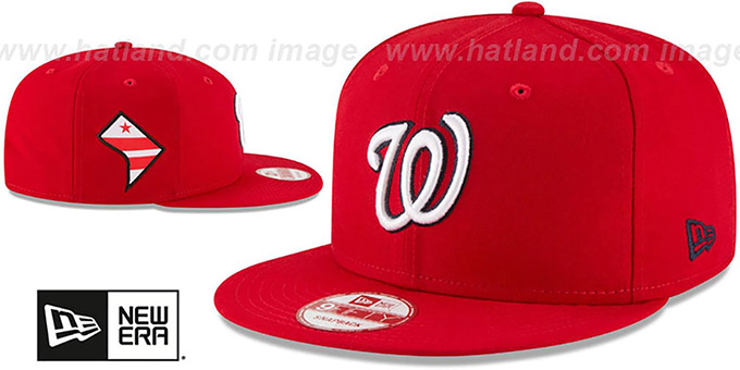 Nationals 'STATE STARE SNAPBACK' Red Hat by New Era