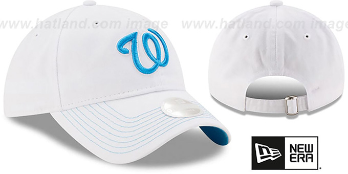 Nationals 'WOMENS POP PREFERRED PICK STRAPBACK' White-Blue Hat by New Era