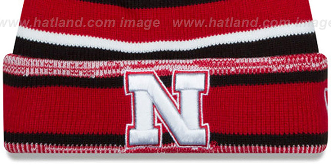 Nebraska 'NCAA-STADIUM' Knit Beanie Hat by New Era