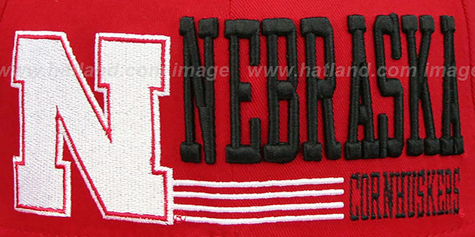 Nebraska 'RETRO-SNAPBACK' Red Hat by New Era