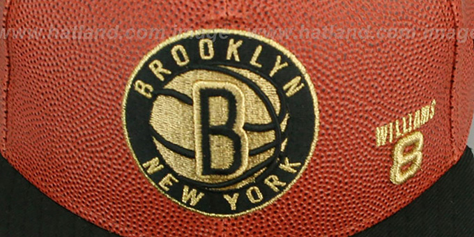 Nets WILLIAMS 'BASKET-BALLIN' Fitted Hat by New Era