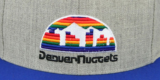 Nuggets '2T-HEATHER STRAPBACK' Hat Mitchell & Ness